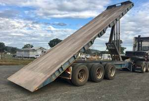 HOWARD PORTER step deck tipper trailer
