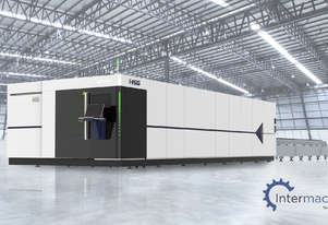 HSG 8025H 8kW Fiber Laser Cutting Machine (IPG source, Alpha Wittenstein gear)
