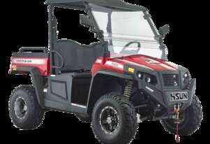 Hisun 500cc Vector 2WD/4WD Utility Vehicle With Winch, Roof & Windscreen