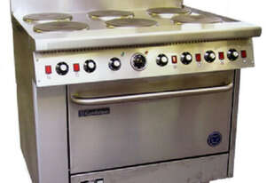 Goldstein PEC6S28 6 Electric Hotplate 711mm High Speed Convection Oven