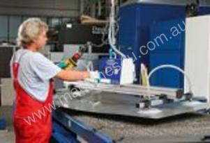 VacuMaster for lifting sheet steel, capacities of 75kg to 2000kg