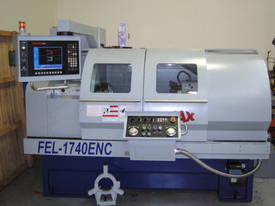 Ajax 435mm Swing Flat Bed Teach-In CNC Lathes now available with 86mm bore - picture4' - Click to enlarge