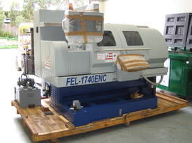 Ajax 435mm Swing Flat Bed Teach-In CNC Lathes now available with 86mm bore - picture8' - Click to enlarge