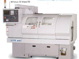 Ajax 435mm Swing Flat Bed Teach-In CNC Lathes now available with 86mm bore - picture9' - Click to enlarge