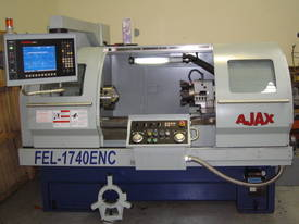 Ajax 435mm Swing Flat Bed Teach-In CNC Lathes now available with 86mm bore - picture1' - Click to enlarge