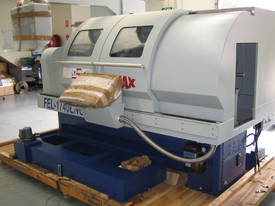 Ajax 435mm Swing Flat Bed Teach-In CNC Lathes now available with 86mm bore - picture3' - Click to enlarge