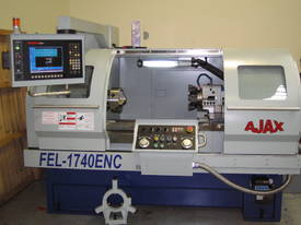 Ajax 435mm Swing Flat Bed Teach-In CNC Lathes - picture0' - Click to enlarge