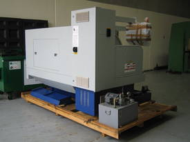 Ajax 435mm Swing Flat Bed Teach-In CNC Lathes - picture2' - Click to enlarge