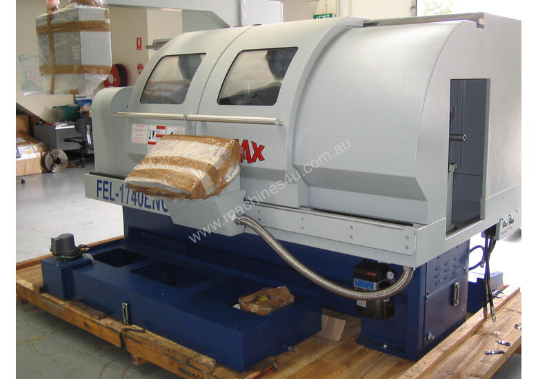 Ajax 435mm Swing Flat Bed Teach-In CNC Lathes