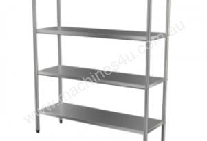 Brayco SF4T9 4-Tier Stainless Steel Shelf (900mmLx