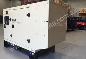 Kohler 66kVA Diesel Generator KD66 John Deere Powered Enclosed Cabinet