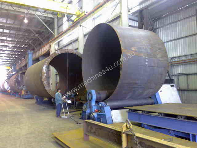 PLATE ROLLS DAVI MCB for Wind Towers and General
