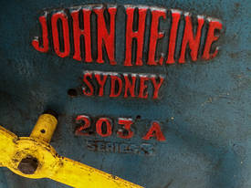 John Heine 203A Series 3 Inclinable C-Frame Press - picture2' - Click to enlarge
