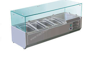 BAIN MARIE, 4 X 1/3 GN TRAYS NOT INCLUDED VRX-1200
