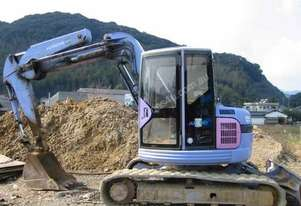 HITACHI EX75UR-2 EXCAVATOR *WRECKING*