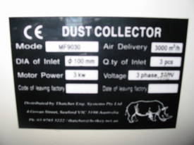 RHINO 2 BAG 4HP (3kW) DUST EXTRACTOR *ON SALE* - picture6' - Click to enlarge
