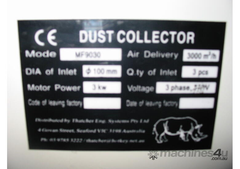 RHINO 2 BAG 4HP (3kW) DUST EXTRACTOR *ON SALE*