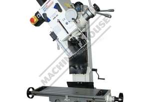 HM-46 Mill Drill - Geared & Tilting Head (X) 475mm (Y) 195mm (Z) 450mm Dovetail Column