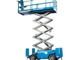 HIRE  ROUGH TERRAIN SCISSOR LIFT