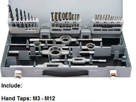 HSS Metric Hand Tap, Die and Drill 44pcs - picture0' - Click to enlarge