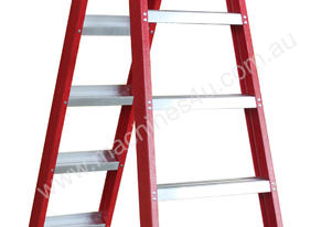 2.3 - 4.5m Fiberglass Dual Purpose Ladder
