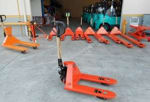 Short Pallet Jack 700mm - Sydney Stock
