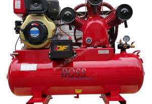 BOSS 42 CFM/ 10HP DIESEL POWERED AIR COMPRESSOR (E/Start)