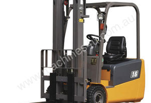 J Series 1.3-2T Forklift (Three Wheel, Front Drive