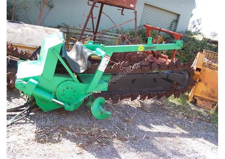 tr120 trencher attachment for V120 / RT1250 etc