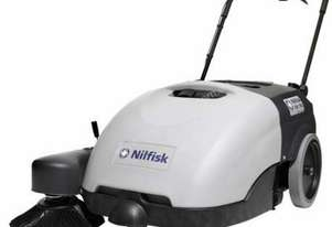 NEW Nilfisk Walk Behind Battery Sweeper SW750