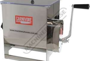 MMM-20 Mince Mixer - Stainless Steel 20kg Mixing Capacity