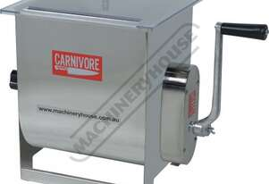 MMM-20 Mince Mixer - Stainless Steel 3:1 Mechanical Gear Drive Ratio 20kg Mixing Capacity