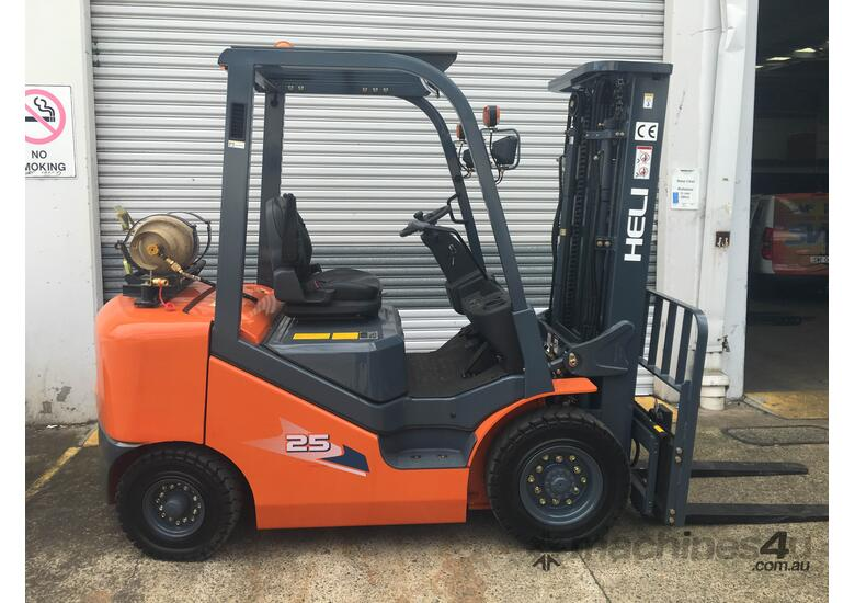 New Heli Forklifts