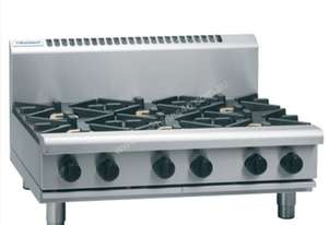 Waldorf 800 Series RNL8600G-B - 900mm Gas Cooktop Low Back Version `` Bench Model