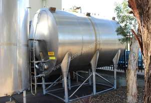Stainless Steel Horizontal Mixing Tank