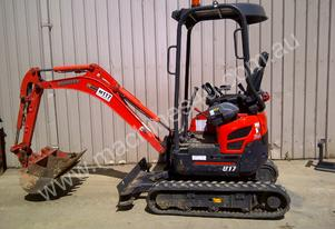 Kubota U17, 1.7T excavator For Hire