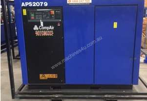 CompAir 475SR, 400cfm, 75kw electric compressor