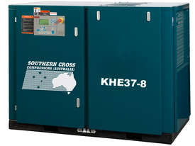 KHE Series 15 - 400kW Rotary Screw Air Compressor - picture1' - Click to enlarge
