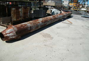 steel 9 mt pipe 10  mm plate thicknes