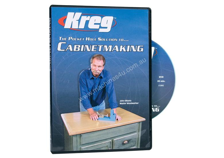 New Kreg Kreg Dvd Cabinetmaking Hand Tools In Wakerley Qld Price 15