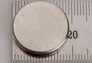 Rare Earth Magnets - 19mm x 3mm - Pk 6
