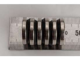 Rare Earth Magnets - 19mm x 3mm - Pk 6 - picture2' - Click to enlarge
