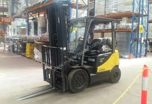 3 x CG25E-5 Crown Forklifts For Sale