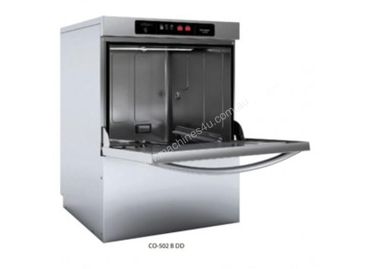 FAGOR - CO-502 B DD - EVO-CONCEPT FRONT LOADING UNDERCOUNTER DISHWASHER WITH DRAIN PUMP, DETERGENT D