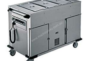 Rieber NORM-III-1-1K - Bain Marie Top 1 x Heated Cabinet 1 x Refrigerated Cabinet Mobile Food Transp