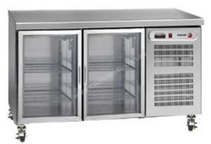 FAGOR 2 Glass Door SS Top Refrigerated Counter MFP-135CGD