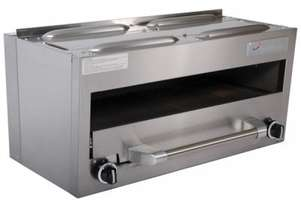 Garland GFIR36C Heavy Duty Restaurant Range 864mm wide Salamander/Broiler natural Gas