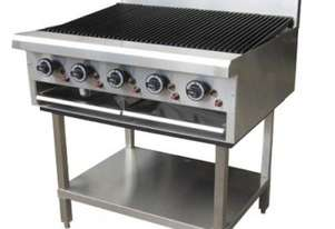 LKKCG9 5 Burner Gas Char Grill - 900mm