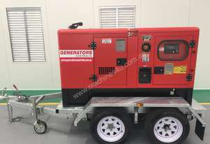 End of Financial Year Special 10 KVA ! Trailer Generator 10KVA