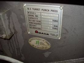 Amada Pega 244 Refurbished CNC Turret Punch Press - picture2' - Click to enlarge